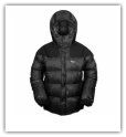 Down filled Hiking Jacket Fleece Hire